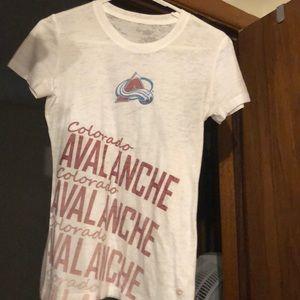 Colorado Avalanche White T-shirt